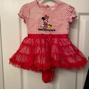 Disney baby Dress onesie with tutu !